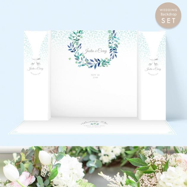 心繫一生的愛 婚禮背板套組(全) 1