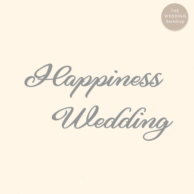 幸福城堡 布式婚禮背板 2