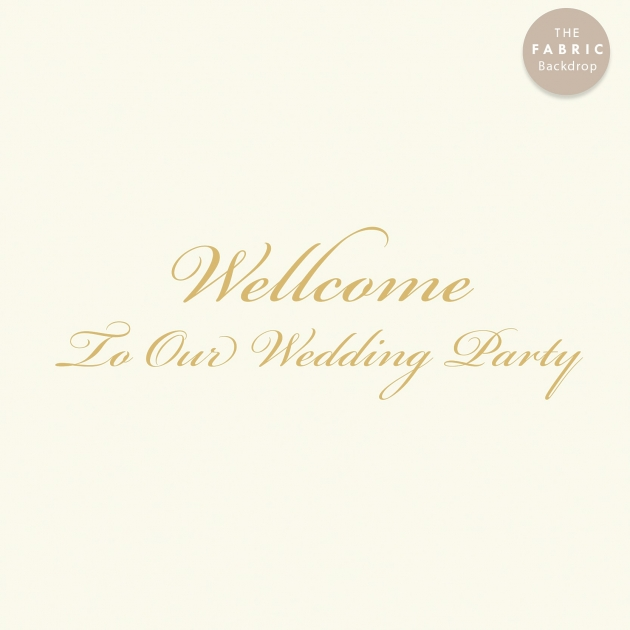 大亨小傳 布式婚禮背板 2